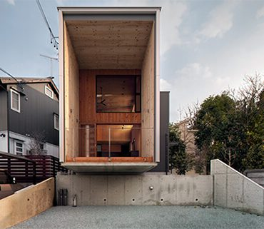 Rectangle & Square House At Brooklyn